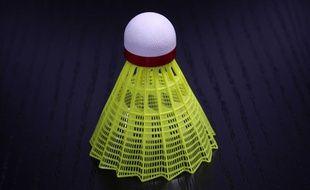 Illustration d'un volant de badminton.
