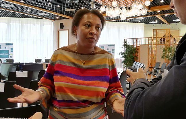 La maire de Vaulx-en-Velin, Hélène Geoffroy, le 12 juin 2018.