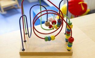 Illustration d'un jeu pour enfant.