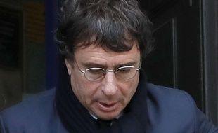Alexandre Djouhri à Londres, en 2018.