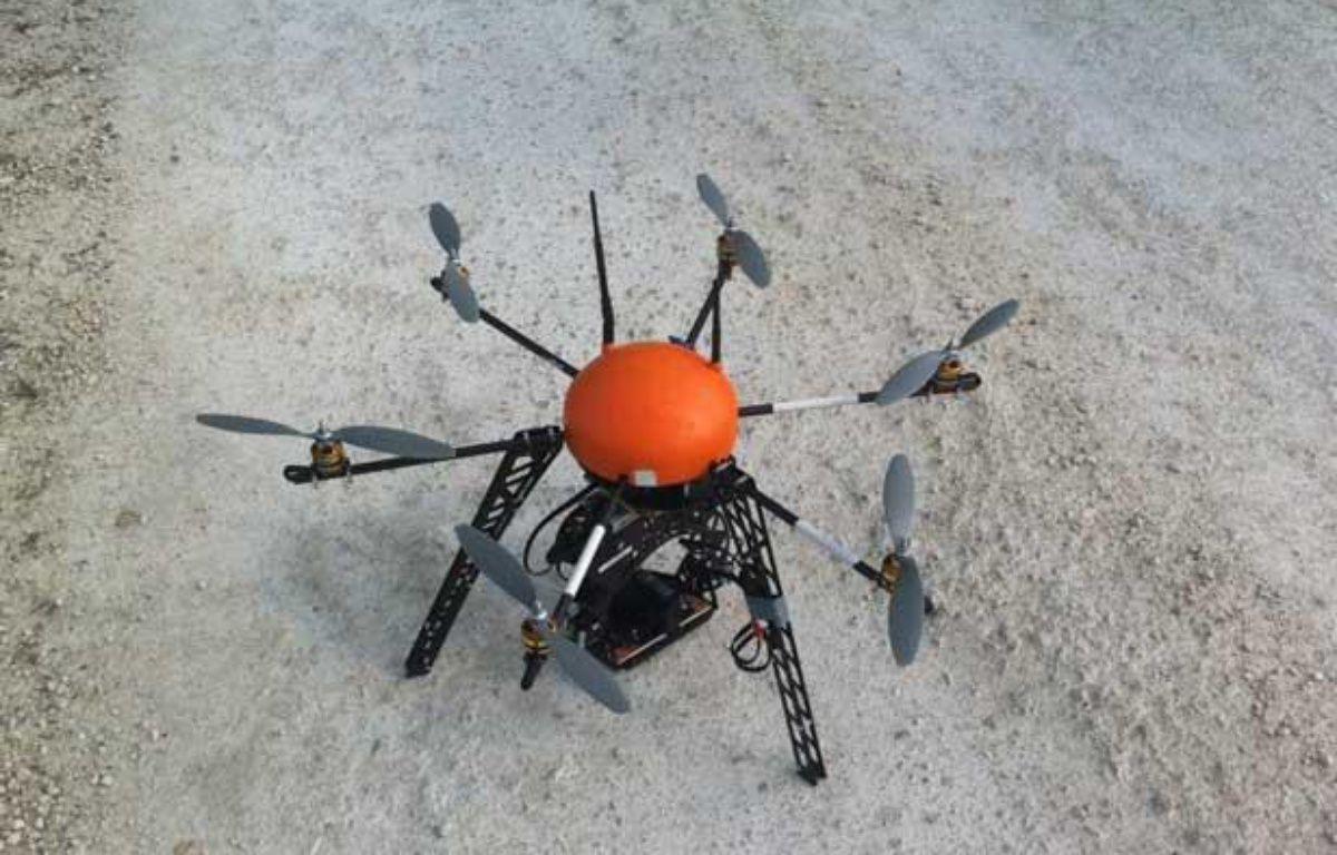 Le drone Scan-Copter intéresse l'armée, la sécurité civile, et les industriels – DR/FLY-N-SENSE