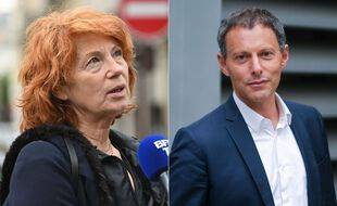 Véronique Genest et Marc-Olivier Fogiel