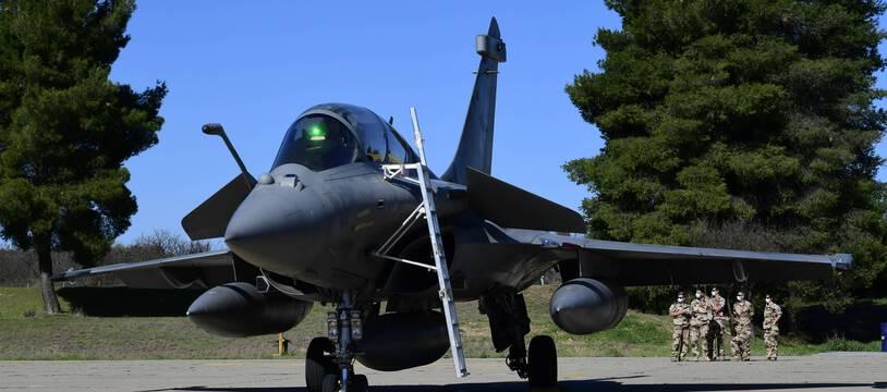 Les avions Rafale comptent pour une bonne partie dans les ventes d'armes françaises. (illustration)