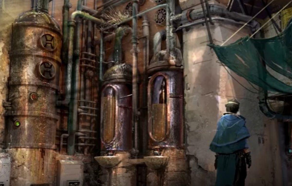 Disney a dévoilé les premières images de Star Wars Land  – Capture d'écran YouTube