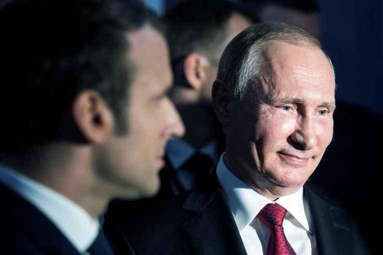 Poutine justifie avoir reçu Marine Le Pen en Russie — Présidentielle française