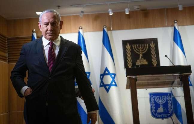 648x415 le premier ministre israelien benjamin netanyahu dans une salle du parlement a jerusalem le 22