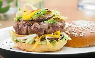 Le Tuna Burger Teriyaki selon Eric Briffard