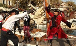 Un combat de corsaires.