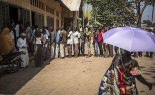 La ville de Bangui, le 14 décembre 2015.