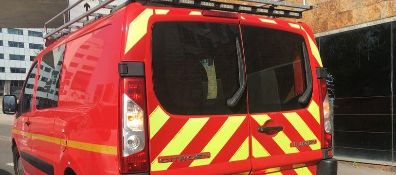 Un camion des pompiers du Nord (illustration)..
