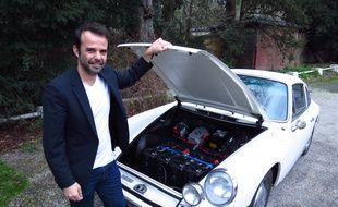Arnaud Pigounides, président de Retrofuture, est l'un des acteurs français qui s'apprêtent à se lancer sur le marché du retrofit. Il cible la transformation des voitures anciennes.