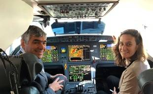 Krista Vandermeulen et Philippe Borghini ont ouvert l'école de pilotes de ligne Wecair.