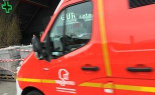 Une ambulance des pompiers, ici à Lille.