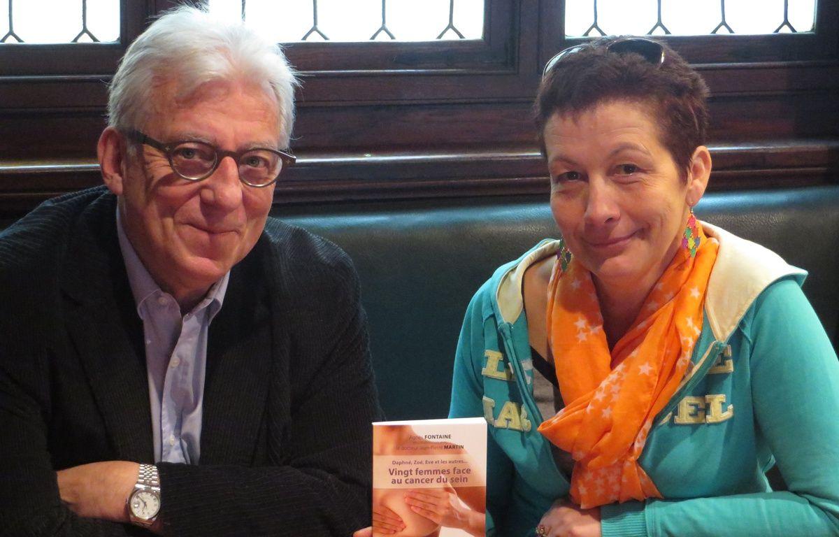 Jean-Pierre Martin, oncologue et Agnès Fontaine, auteurs du livre  – C. Girardon / 20 Minutes