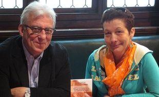 Jean-Pierre Martin, oncologue et Agnès Fontaine, auteurs du livre