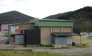L'abattoir du Vigan, fermé à titre conservatoire par le procureur d'Alès, le 23 février 2016 en France