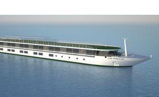 Le bateau-hôtel Elbe Princesse sera livré en 2016.
