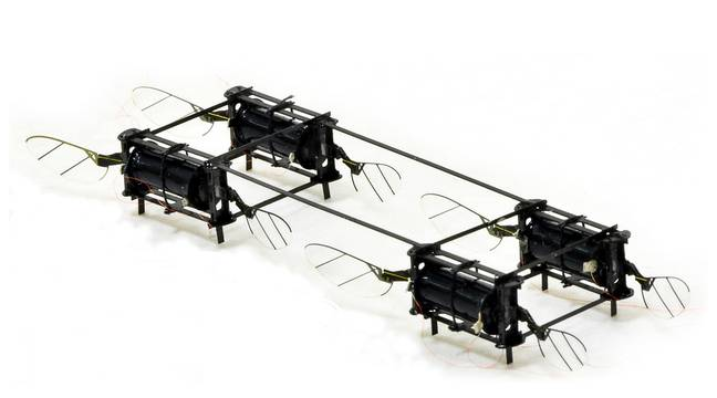 Des chercheurs mettent au point des microdrones ailés à peine plus gros que des insectes - 20 Minutes