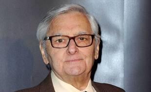Roger Carel, mythique doubleur, est mort le 11 septembre 2020 à l'âge de 93 ans, ici lors de la soirée des remises des Prix Henri-Langlois 2012 à Vincennes