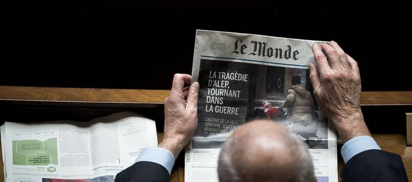 Le journal «Le Monde» (illustration)