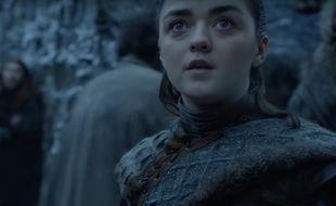 Arya voit un dragon dans «Game of Thrones»