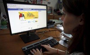 La RATP présente sa nouvelle page Facebook, le 4 septembre 2013.
