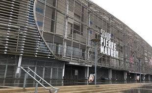 Le stade Pierre-Mauroy de Villeneuve d'Ascq, près de Lille.