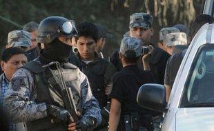 Gustavo Lasi à l'issue de la reconstitution le 26 août 2014 à San Lorenzo, des assassinats de Cassandre Bouvier et Houria Moumni