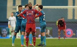 A l'image de son équipe, Moussa Dembélé s'est montré impuissant à la pointe de l'attaque lyonnaise. Olga MALTSEVA
