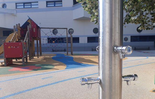 La cours d'école oasis de Daumesnil (12e)