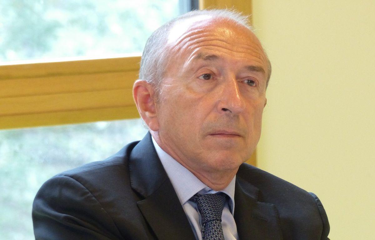 Lyon, Le 1 er septembre 2015. Gérard Collomb, le maire de Lyon. – Elisa Frisullo / 20 Minutes