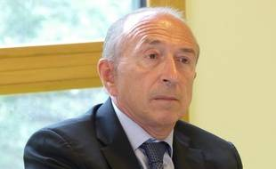 Lyon, Le 1 er septembre 2015. Gérard Collomb, le maire de Lyon.