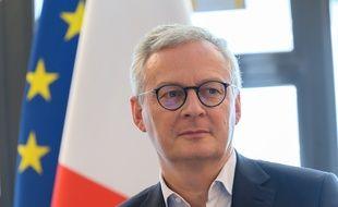 Le ministre de l'Economie Bruno Le Maire, à Paris le 18 juillet 2020.
