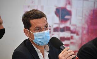 Le maire LR de Cannes David Lisnard