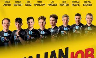 Romain Bardet sera bien entouré sur le Giro