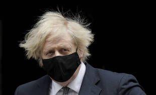 Le Premier ministre britannique, Boris Johnson, à Londres le 24 mars 2021.
