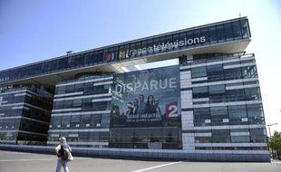 Le siège de France Télévisions, le 23 avril 2015