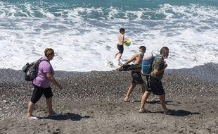 Le tourisme à l'heure du Covid-19, ici sur la Riviera italienne.