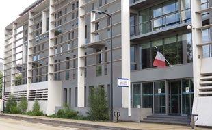 L'hôtel de police Waldeck-Rousseau à Nantes.