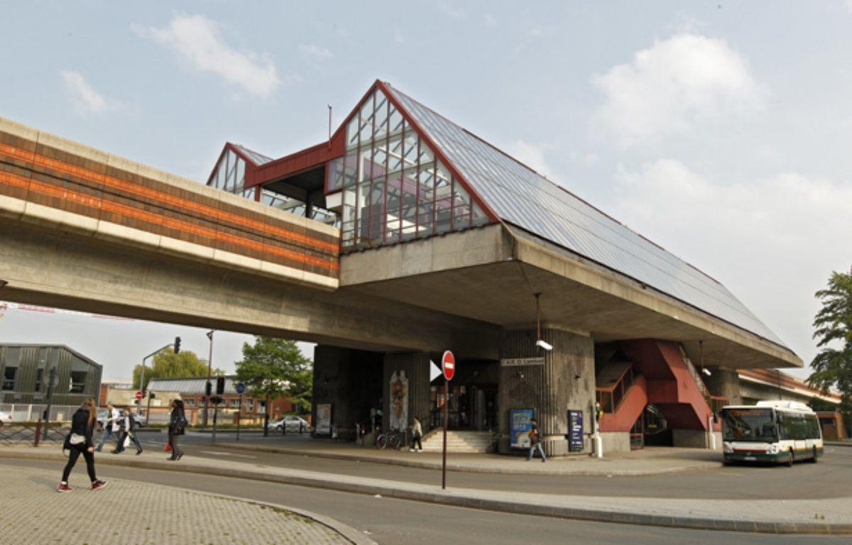 La station de métro lillois CHR Oscar Lambret à Lille. – M.Libert/20 Minutes