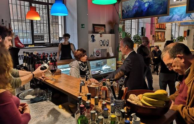 Le restaurant du projet Moltivolti.
