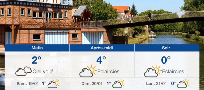 Météo Amiens: Prévisions du vendredi 18 janvier 2019