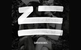 Le visuel accompagnant la chanson «Superfriends», d'un producteur anonyme.