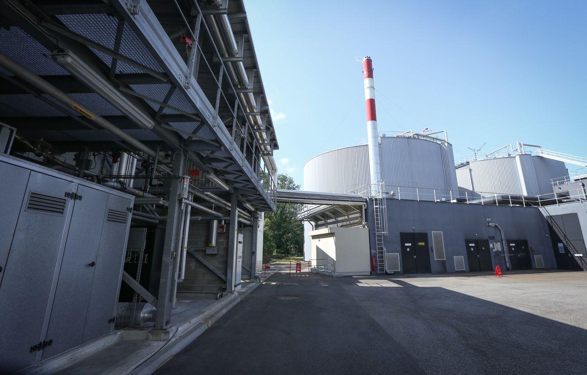 02 septembre 2014. Les deux digesteurs permettant la fabrication du biogaz de la station d'épuration de Strasbourg – Gilles Varela