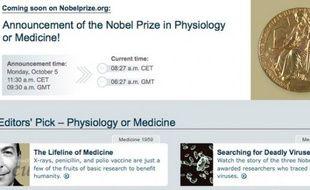 La saison 2009 des prix Nobel s'ouvre le 5 octobre à Stockholm en Suède.