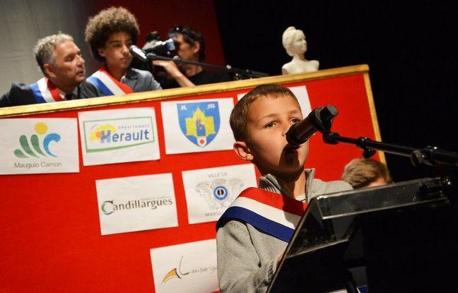 Le Parlement des enfants, ce jeudi, à Montpellier.