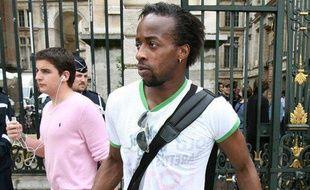 Le footballeur lyonnais Sidney Govou, le 25 mai 2008 à Lyon.