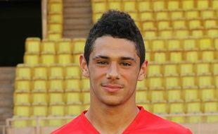 Kévin Malcuit, lorsqu'il évoluait à Monaco, son club formateur, en 2011.