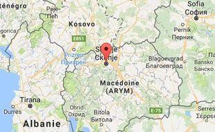 Des inondations se sont produites à Skopje, en Macédoine, le 7 août 2016.