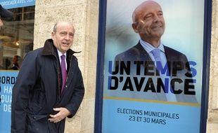 Alain Juppé à Bordeaux, le 12 février 2014.